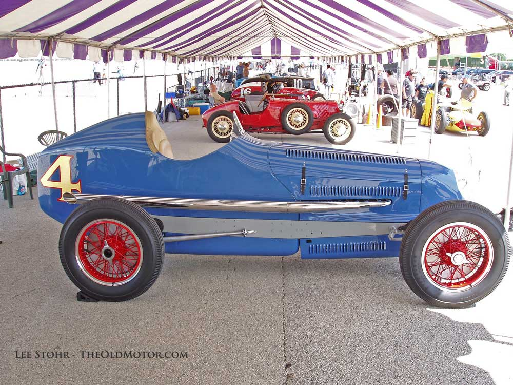 The 2014 Millers At Milwaukee Vintage Indy Car Exhibition