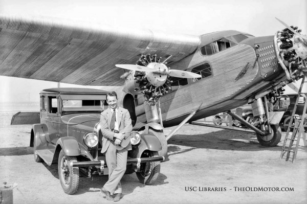 Used Tires Columbus Ohio >> An Auburn and A Ford Tri-Motor Help to Promote India Tires in Los Angeles | The Old Motor