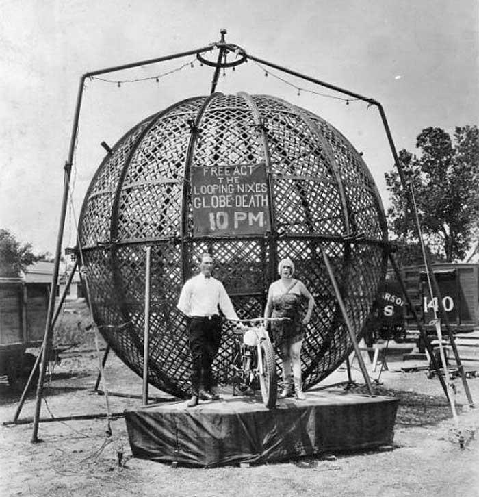 looping Nixes Globe of Death