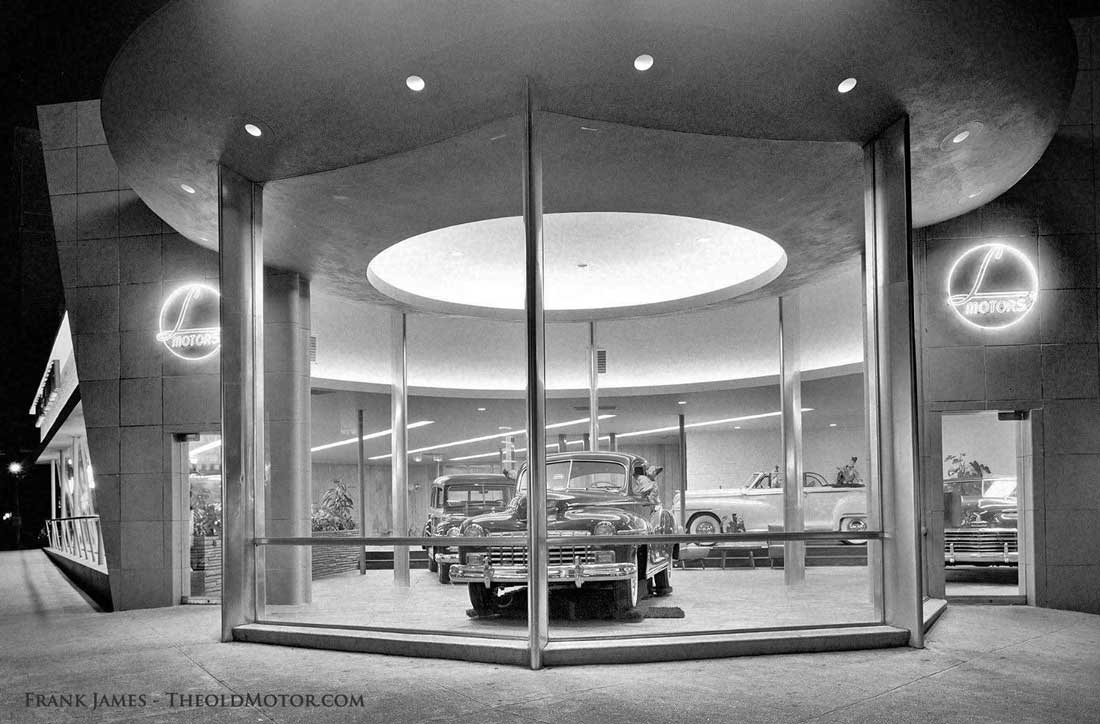 L Motors Dodge and Plymouth Broadway New York City 1948