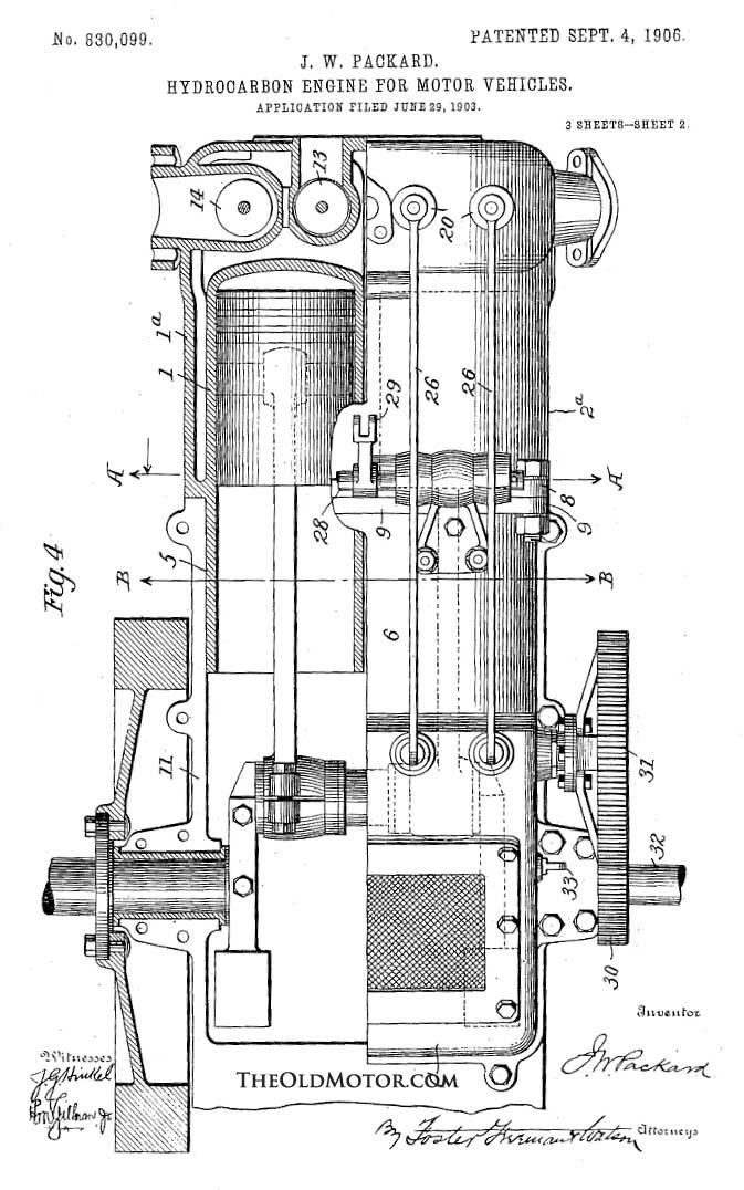 packard walking beam engine