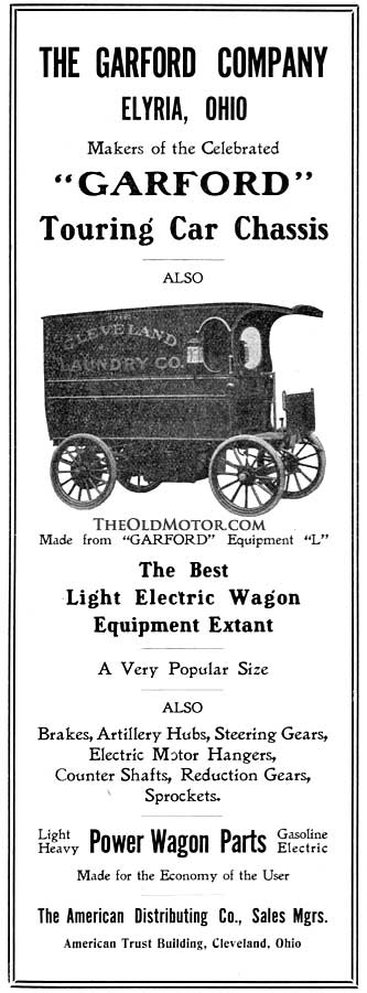Garford Electric Truck