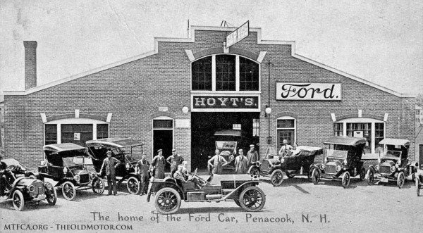 The freemont garage hoyt s ford garage the old motor for Garage ford nice
