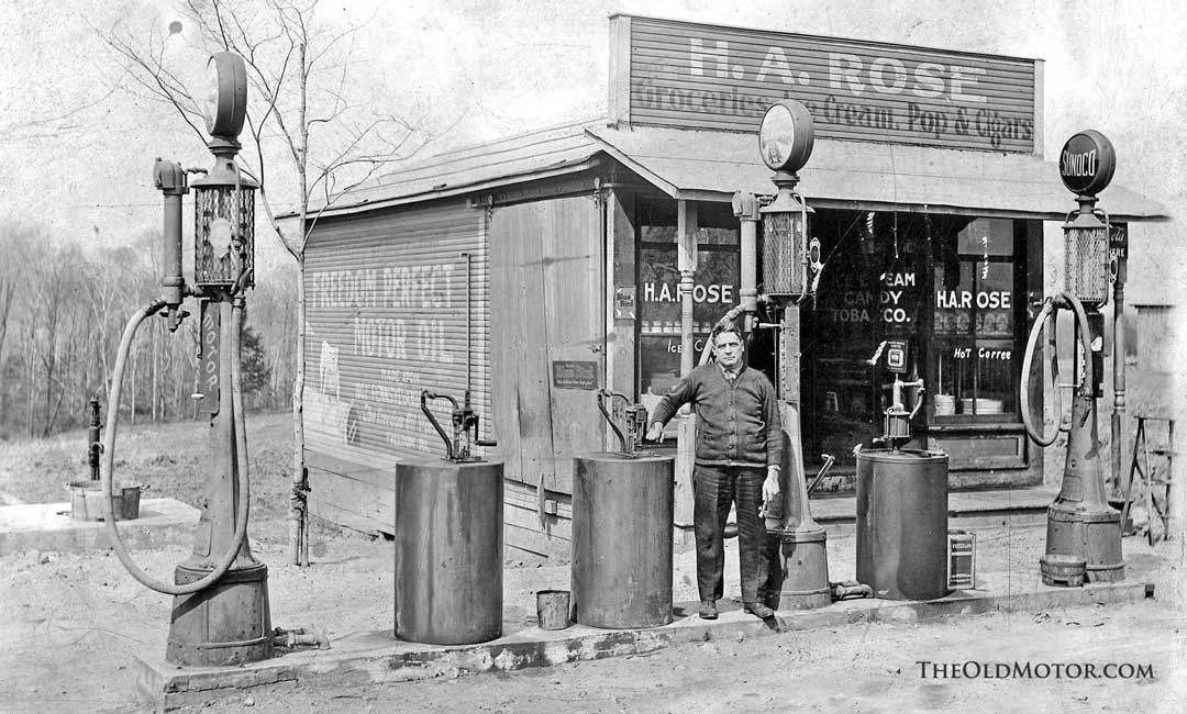 An Overview Of Sylvanus Freelove Bowser S Early Gas Pumps