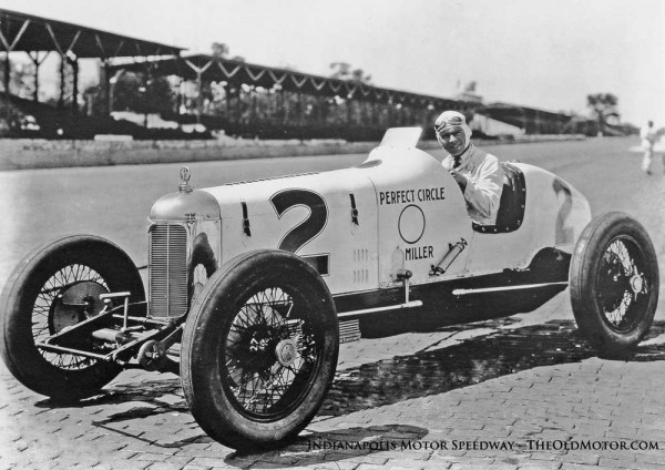 Frank Lockhart and the Perfect Circle Miller Special - Indianapolis 1927