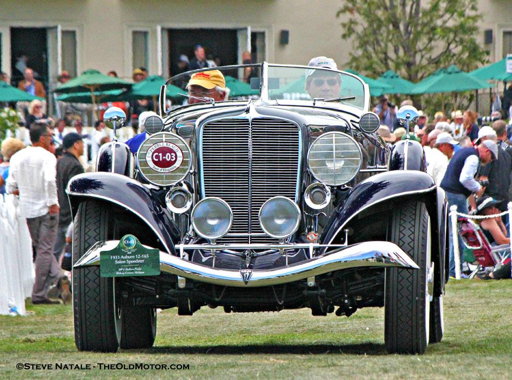 1933 Auburn Twelve Salon Speedster