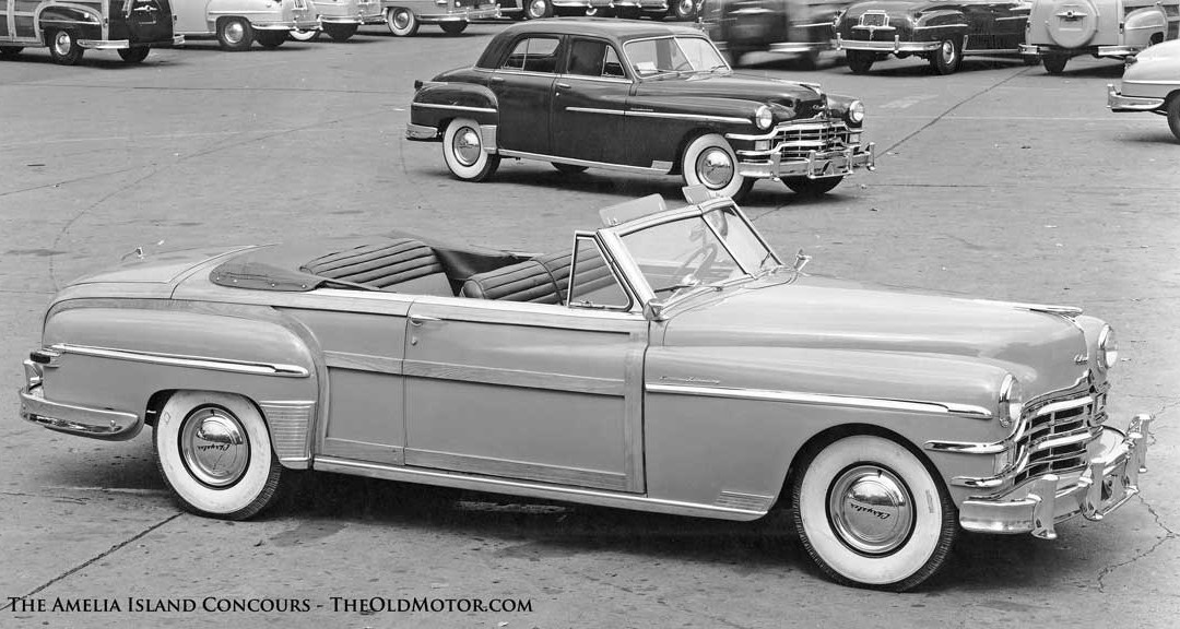 Postwar Chrysler Town and Country Convertible