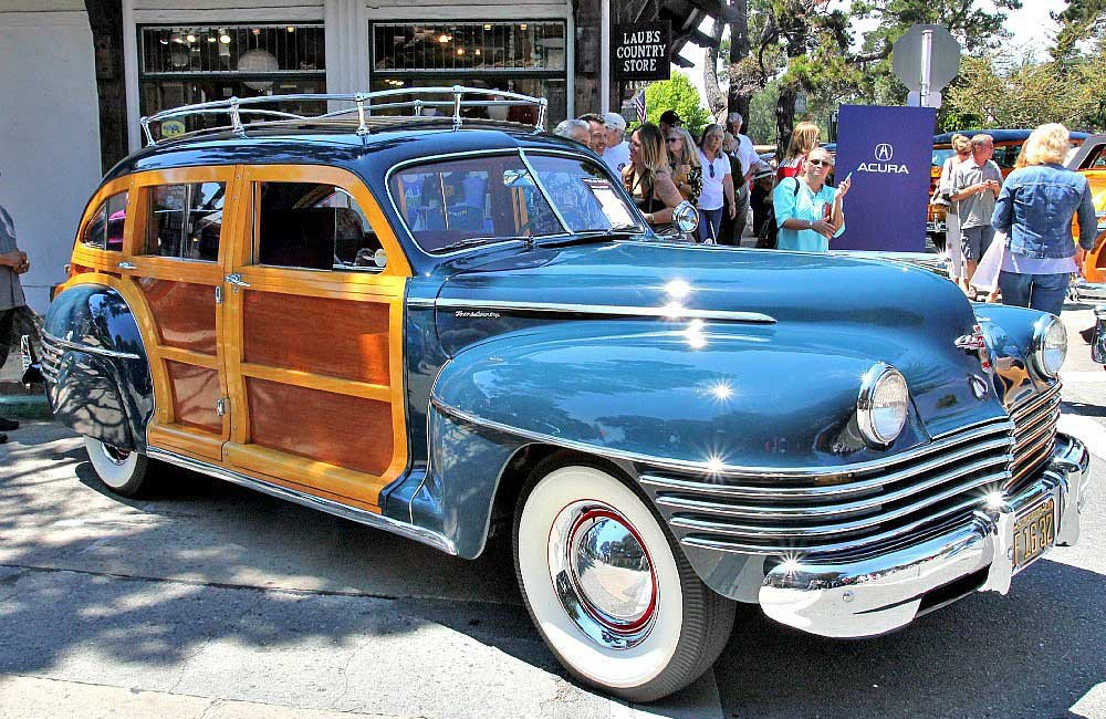 1942 Chrysler Barrel Back Town and County Estate Wagon