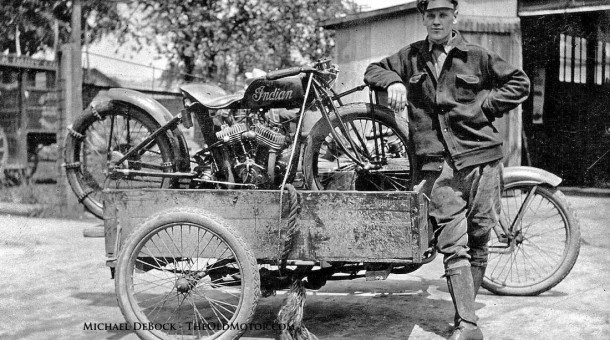 1920s Indian motorcycle hill climber 1920s harley-davidson and side car