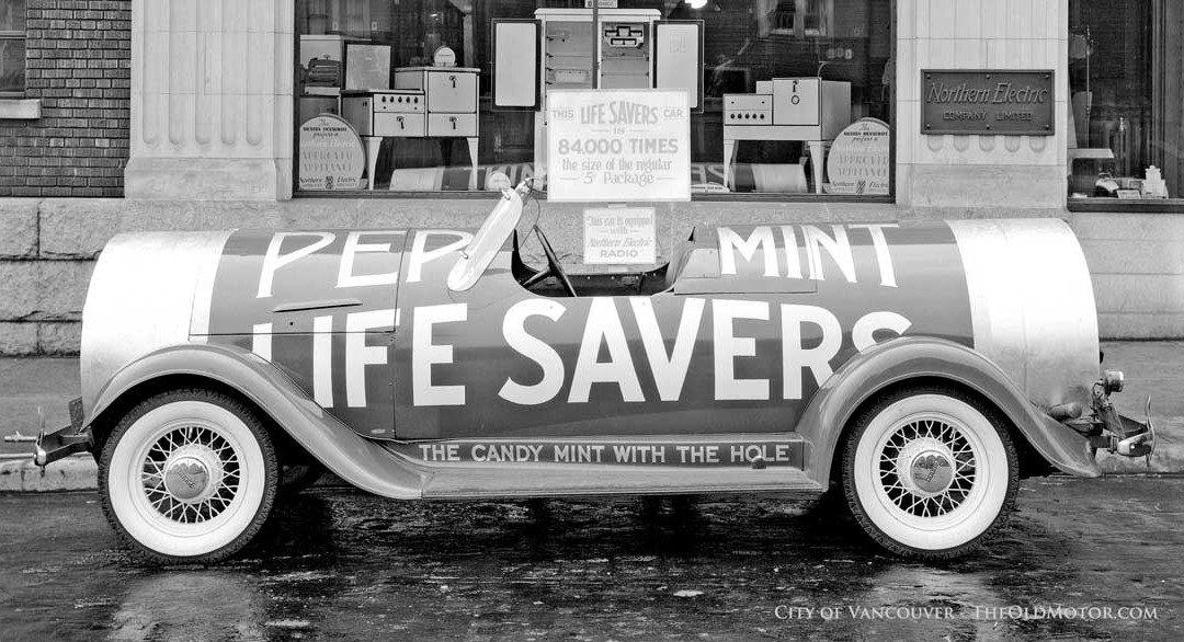 Sweets on a Roll – A Life Savers Dodge Product Mobile   The Old Motor