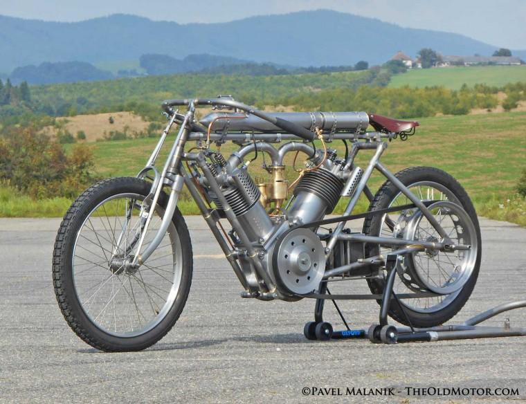 The North London Garage 1909 J. A. P. Engined Record holding motorcycle