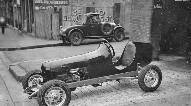 Antique Midget Racing car in Australia