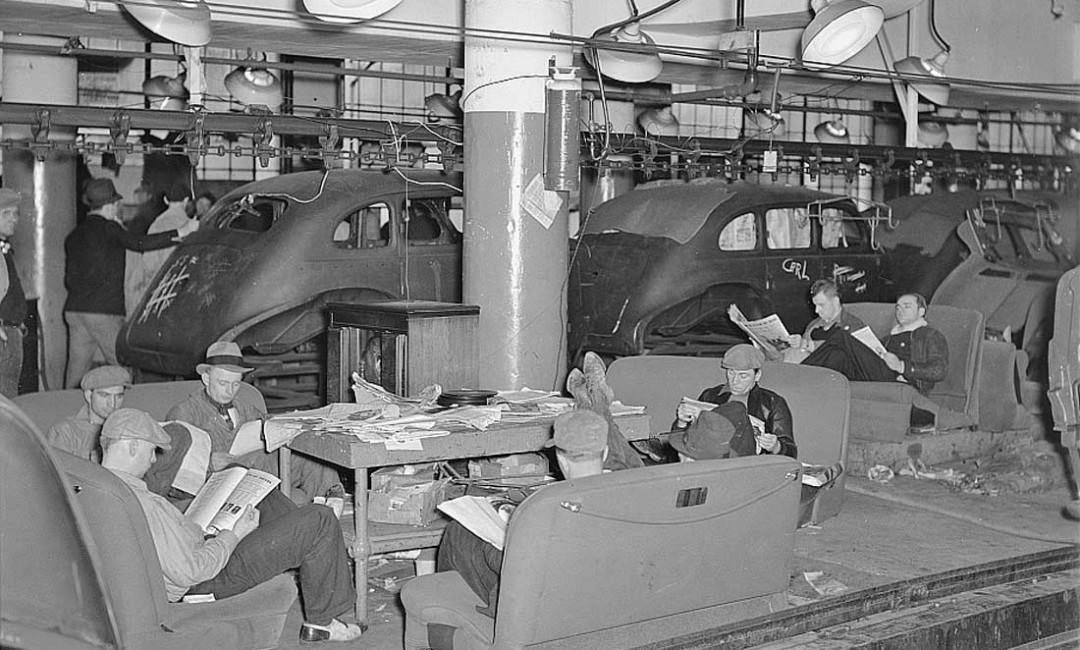 Sit-Down Strike at the Fisher Body Company