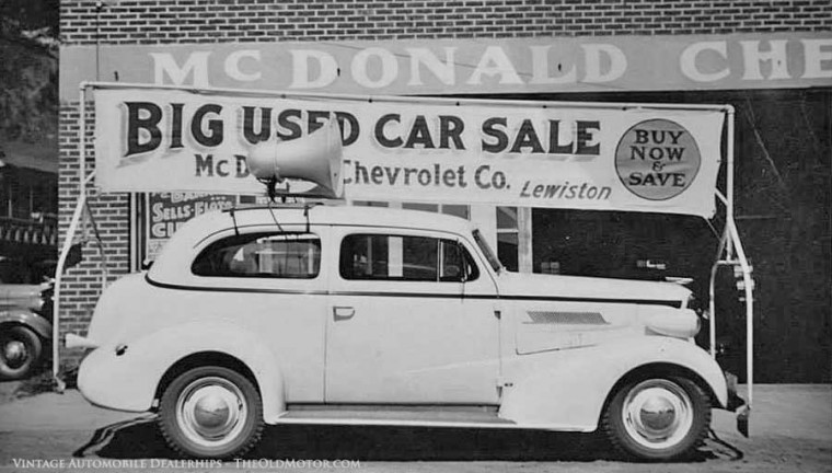 San Jose Car Dealerships >> Automobile Dealerships from the Twenties through the ...
