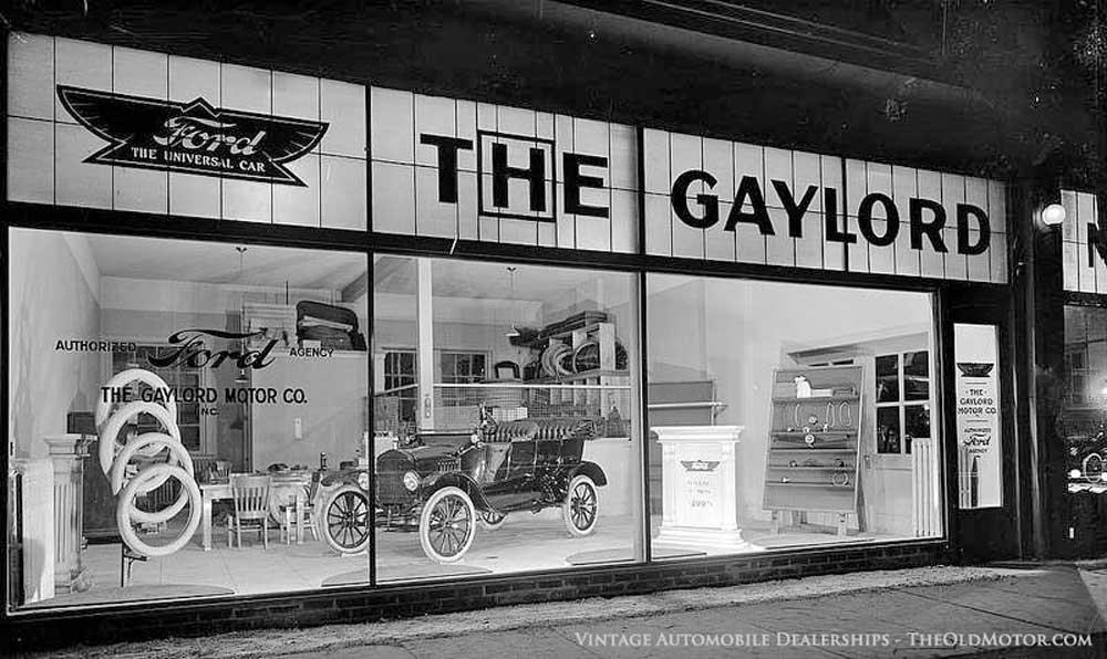 Model T Ford Dealer The Old Motor