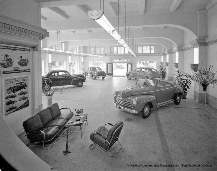 Ford Dealership Kansas City >> Automobile Dealerships from the Twenties through the ...