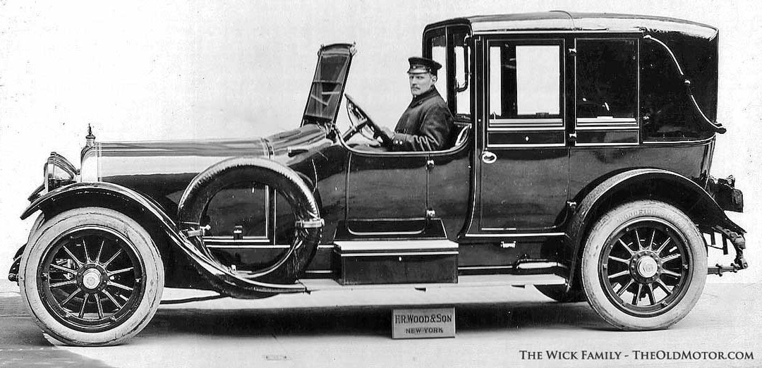 Chauffeur Peter Christian Wick Drives a Simplex – Crane | The Old Motor