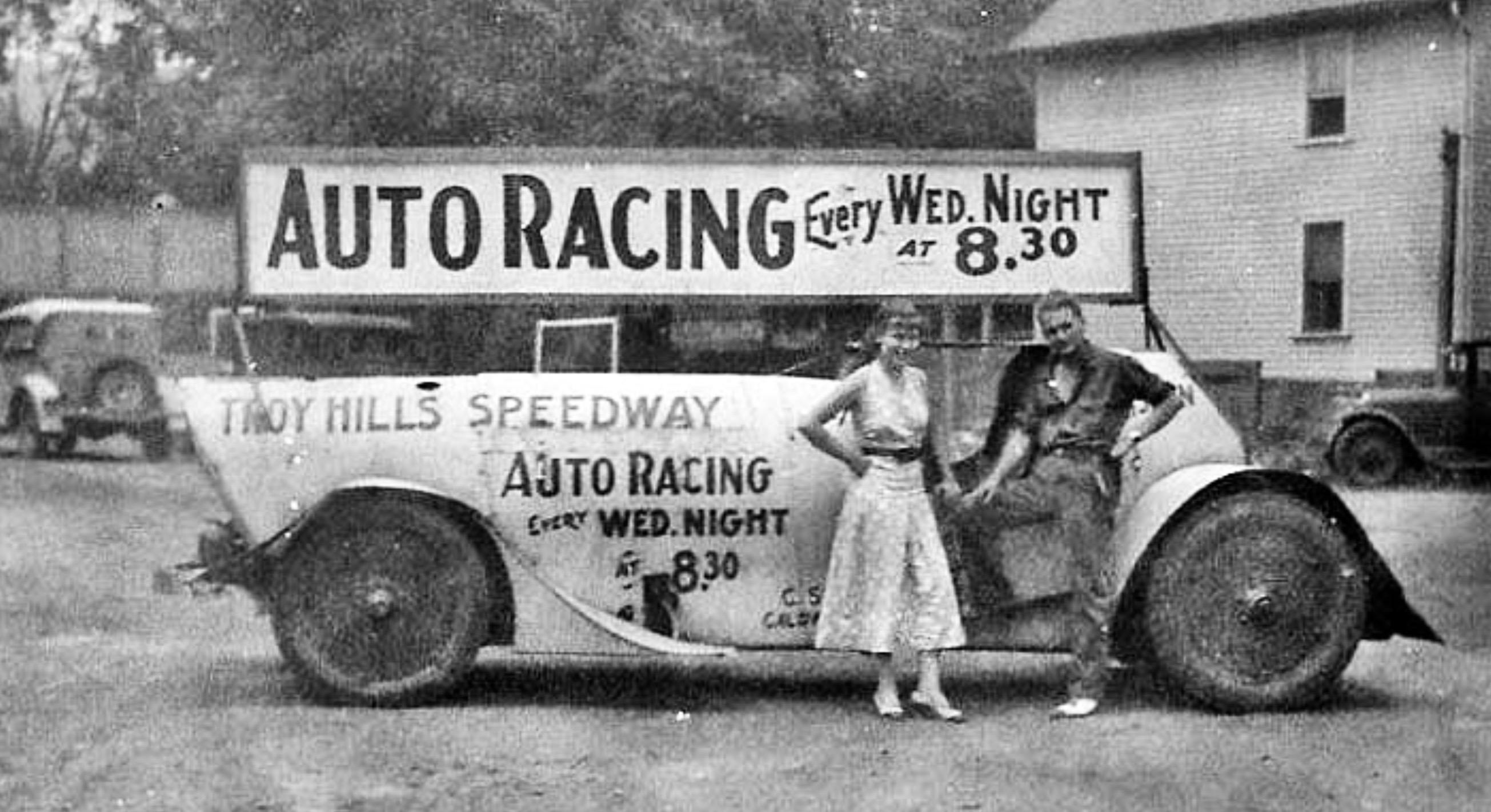 "Custom Built ""Lucky 13"" Ran At Troy Hills, New Jersey Race"