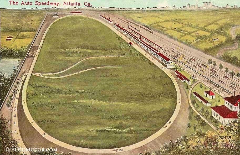 The Atlanta Auto Speedway 1909