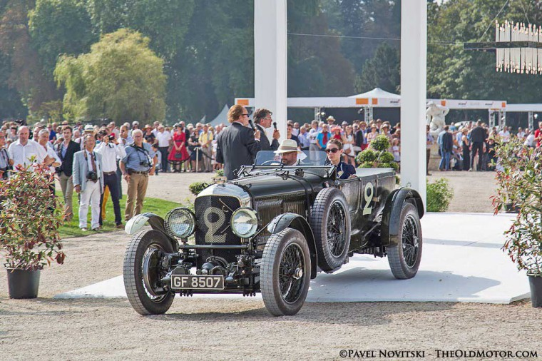 1930 Bentley Speed Six Old Number 2