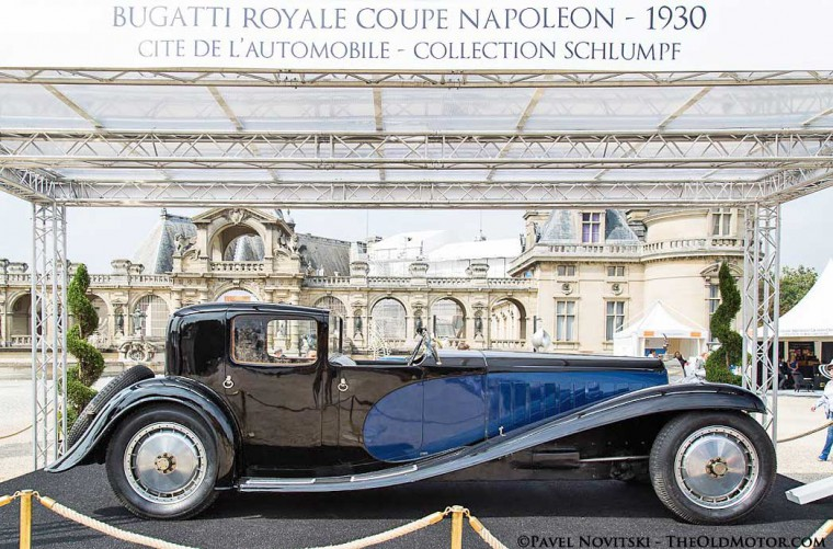 1930 Bugatti Type 41 Royale Coupe Napoleon.