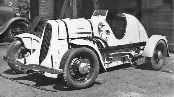 1934 Model A or B Ford-based racing car