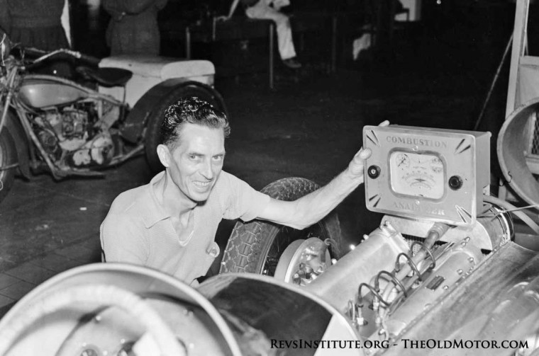 Gilmore Stadium Midget Racer in a shop