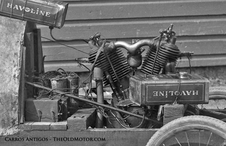 A Young Man S Primitive Cycle Car The Old Motor