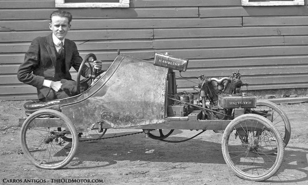 a young man s primitive cycle car the old motor. Black Bedroom Furniture Sets. Home Design Ideas