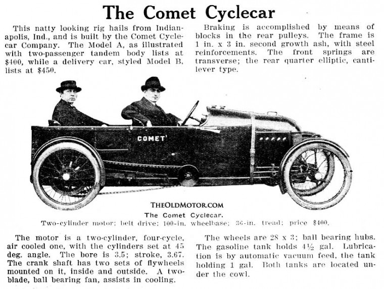 how to build a cyclecar