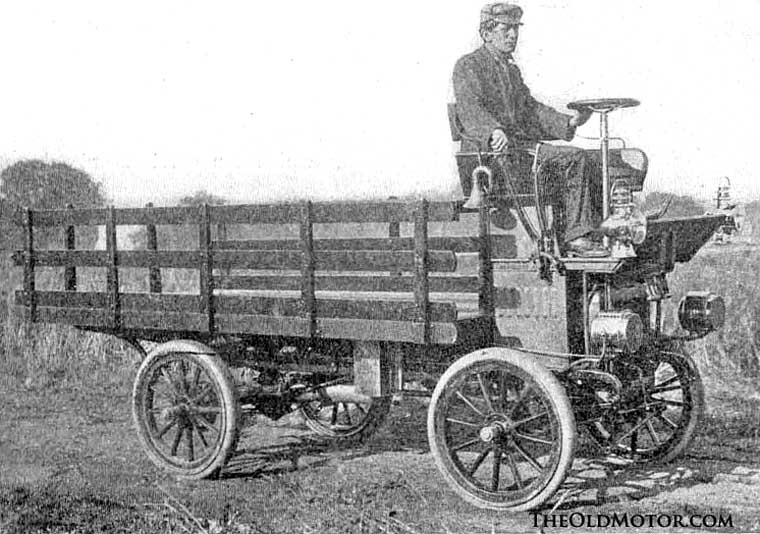 1906 Maxwell Cab-Over Truck