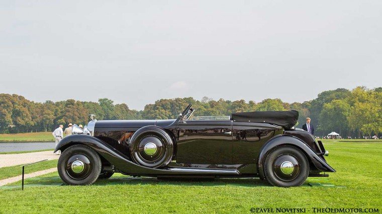 1936 Hispano-Suiza J12 Saoutchick Cabriolet