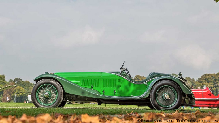 1932 Maserati V4 Zagato Sport Spider by Zagato
