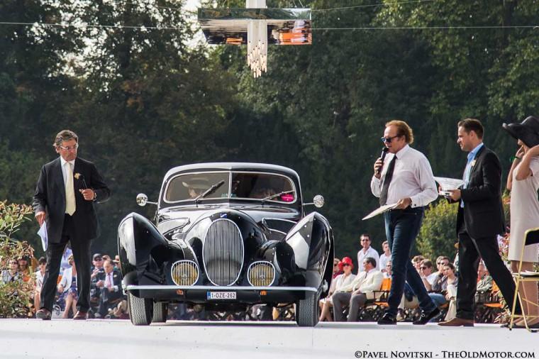1939 Talbot Lago T150 C SS Figoni et Falaschi Coupe