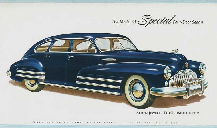1946 1947 1948 Buick