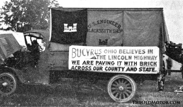Bull Dog Mack on Lincoln Highway
