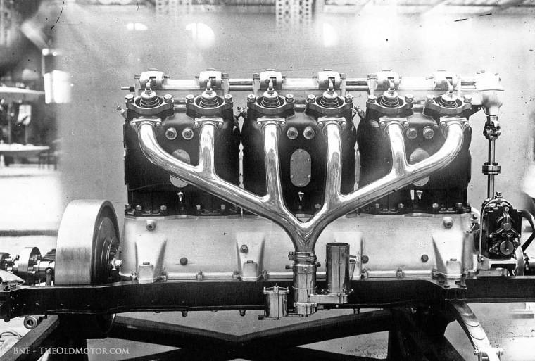 Clement Bayard OHC Aero Motors