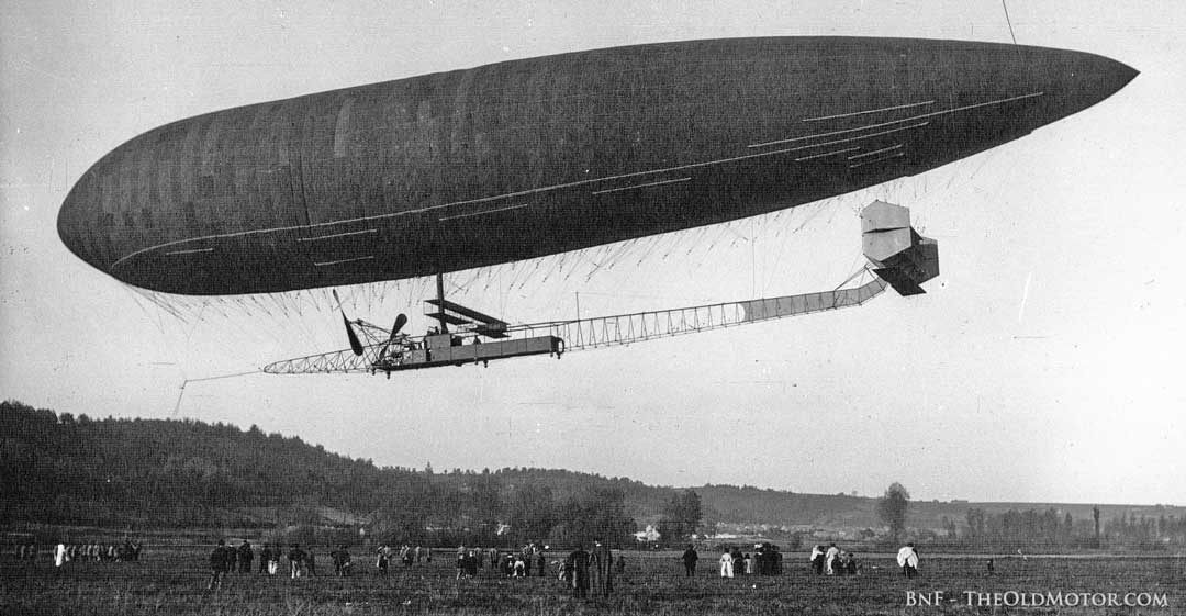 French Dirigible