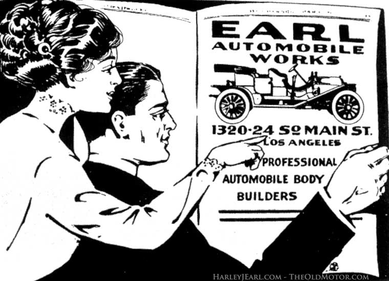 Harley J. Earl Automobile works