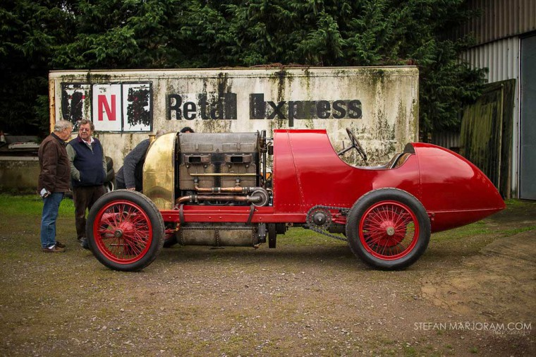1911 300 h.p. FIAT S76 land speed record car