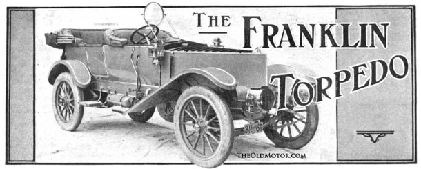 1909 Franklin Touring Car Torpedo