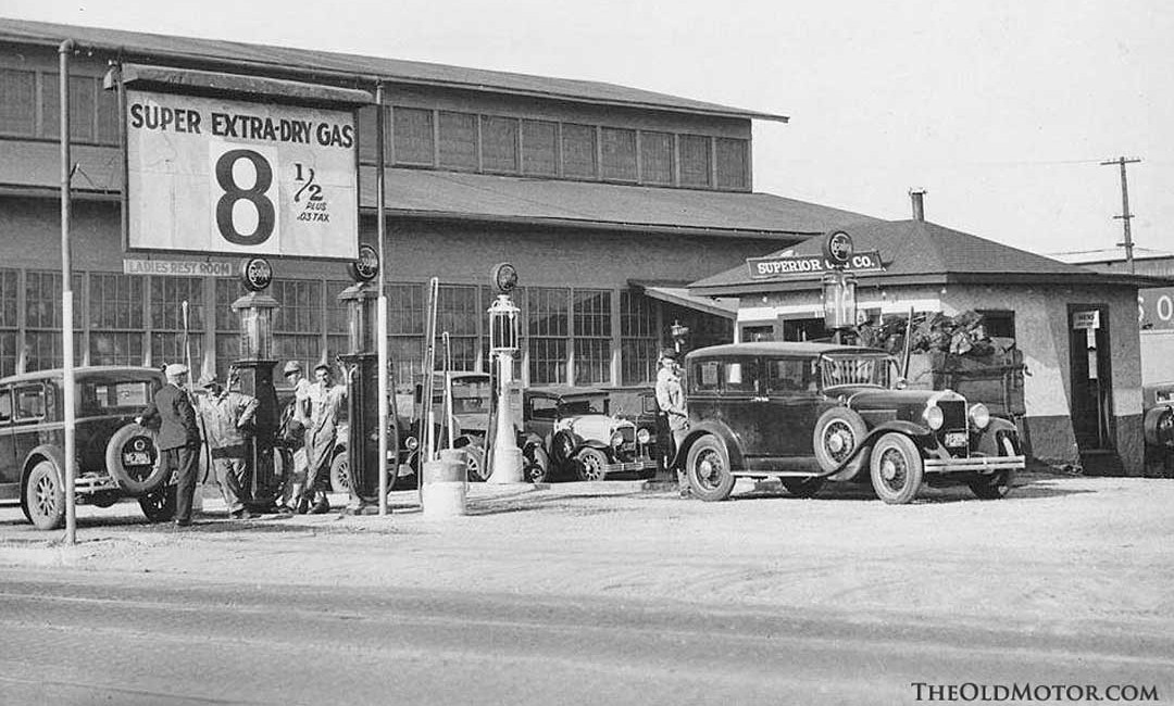 Vintage Gas Stations A Look Back At Service Stations In