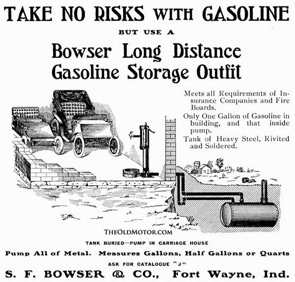 Old Bowser Gasoline pump