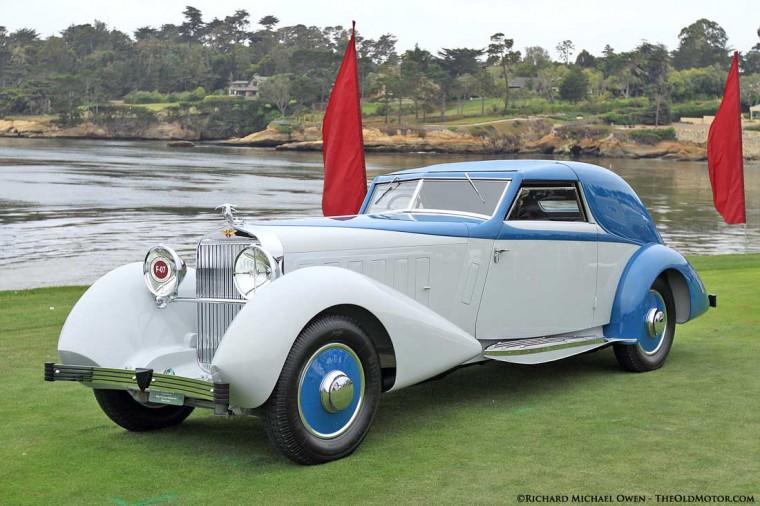 1934 Hispano Suiza J12 Coupé De Ville With Fernandez Et Darrin Coachwork