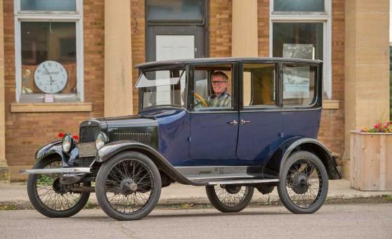 1920 Willys-Overland Model 4