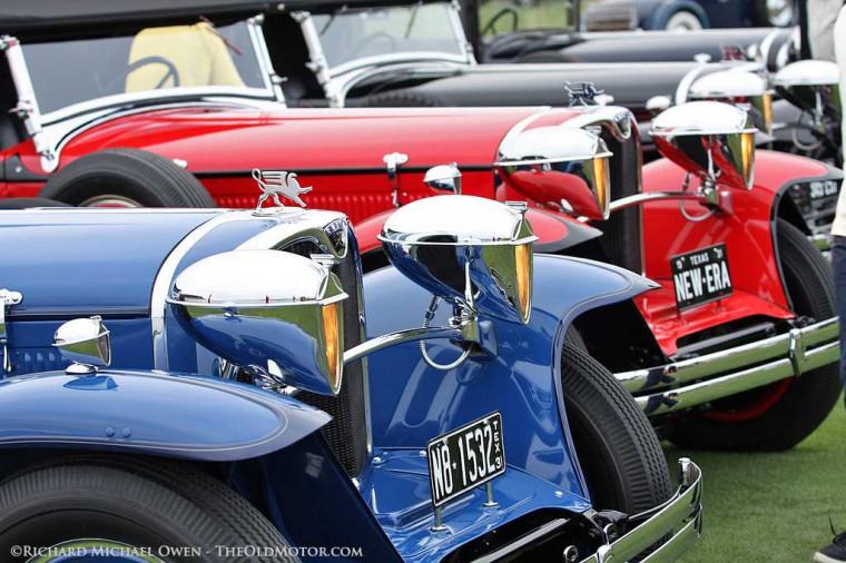 Ruxton automobiles at Pebble Beach