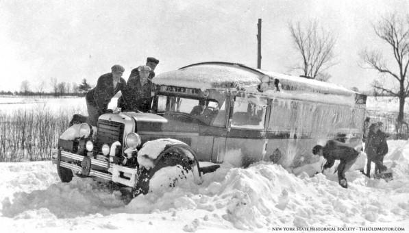 Antique Old Vintage Bus