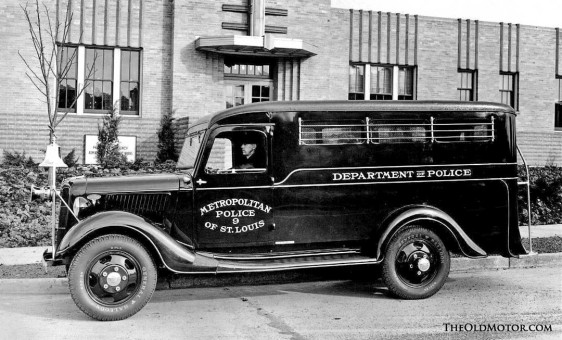 mid-1930s Ford paddy wagon
