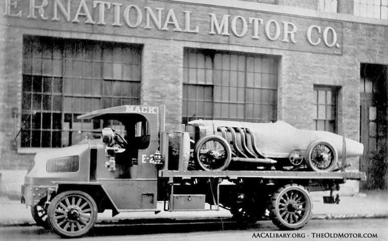Blitzen Benz at Mack Truck N.Y.C.