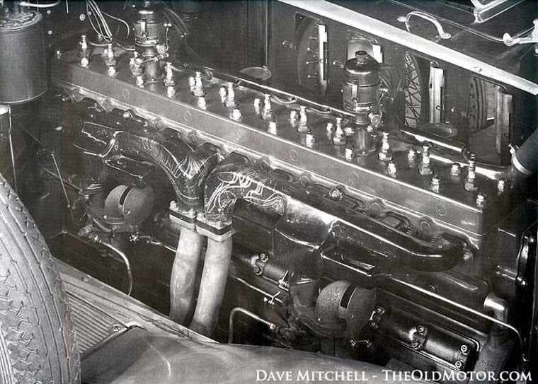 Experimental Packard Straight Twelve